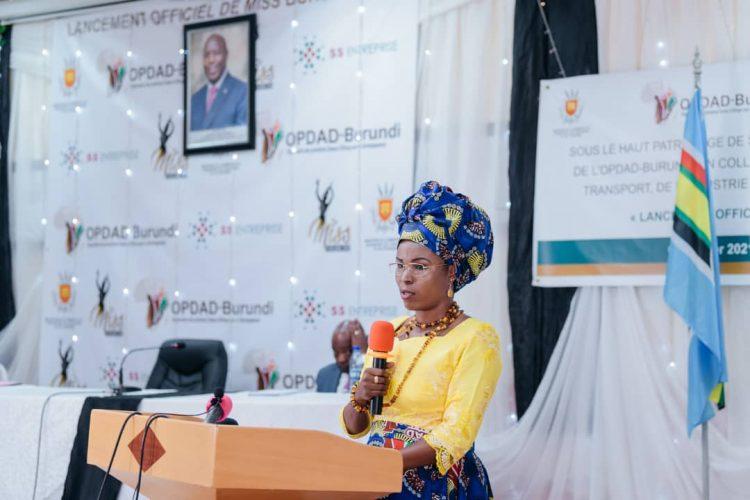 Umutambukanyi wa Sebarundi yatanguje ihiganwa Miss Burundi 2021